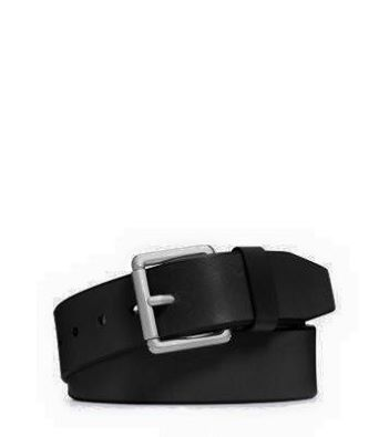 MICHAEL KORS MEN LEATHER BUCKLE BELT