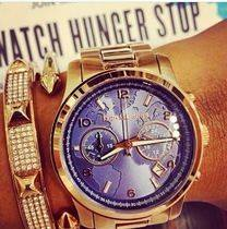 WATCH HUNGER STOP RUNWAY ROSE GOLD-TONE WATCH
