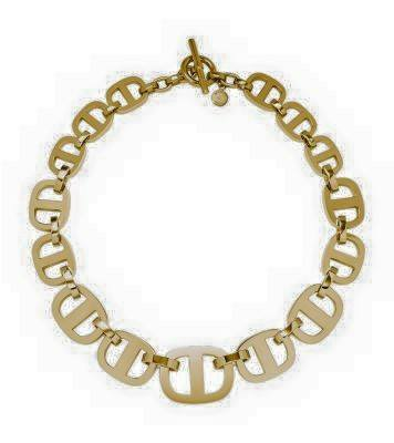 MARITIME LINK GOLD-TONE NECKLACE