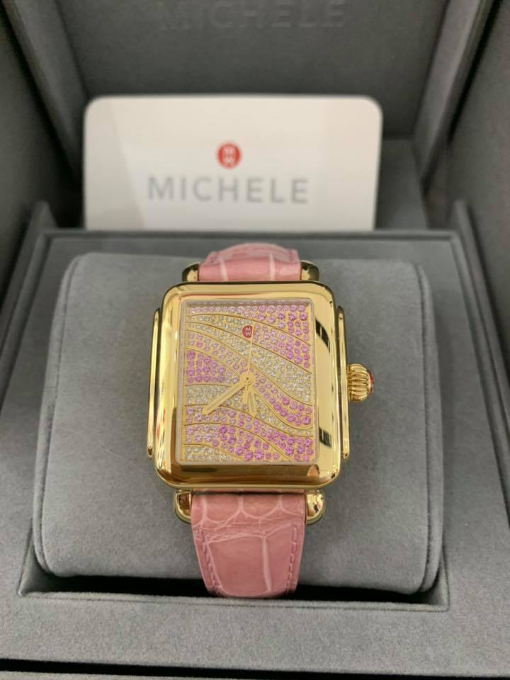 Michele limited edition watches Deco