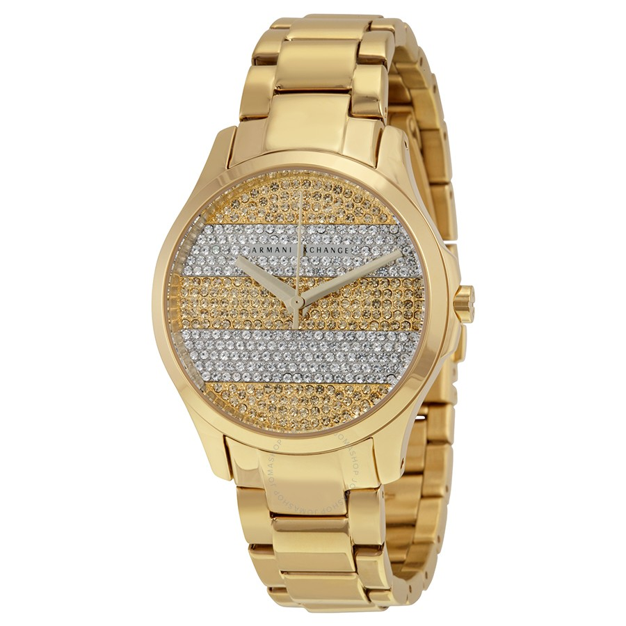 Armani Exchang Smart Crystal Pave Striped AX5242