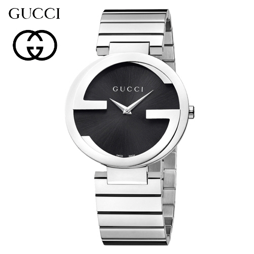 Gucci Interlocking G Black Dial A133307